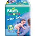 Scutece Pampers Activ Baby 4 Maxi Plus 18 buc