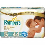 Scutece Pampers Premium Care 5 Junior Value Pack 44 buc