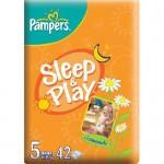 Scutece Pampers Sleep and Play 5 Junior 42 buc