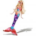 papusa-barbie-sirene-sclipitoare-blonda