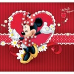 tapet minnie mouse