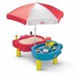 masuta cu umbrela pentru copii