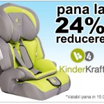 scaun auto kinderkraft reducere