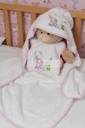 Prosoape bebelusi fetita cu ursuleti si broscuta