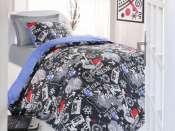 Set  lenjerie dormitor adolescenti Rock